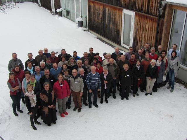 Teilnehmer des VLM-Seminars 2017 in der KLVHS Wies