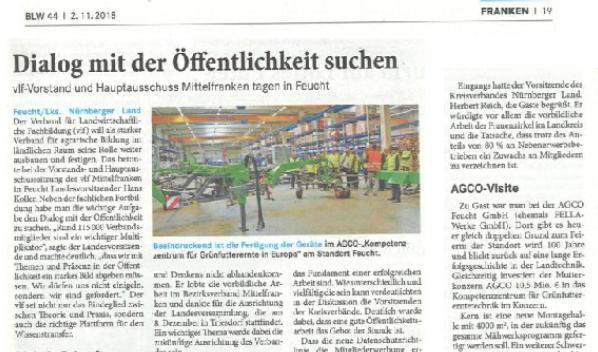 Text und Bild von Lorenz Märtl, Bayerisches Landwirtschaftliches Wochenblatt