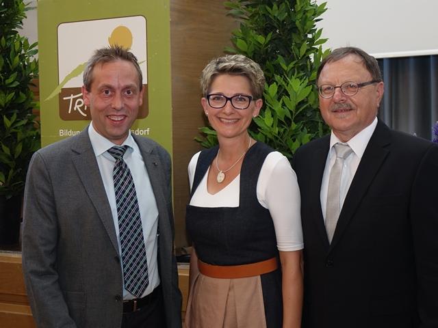 vli: Hans Koller, Susanne Gast und Fritz Vogt
