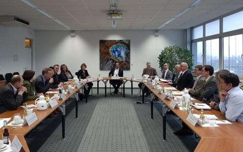 vlf Vorstand im Gespräch mit Umweltminister Glauber (Foto: Schneweis, vlf)