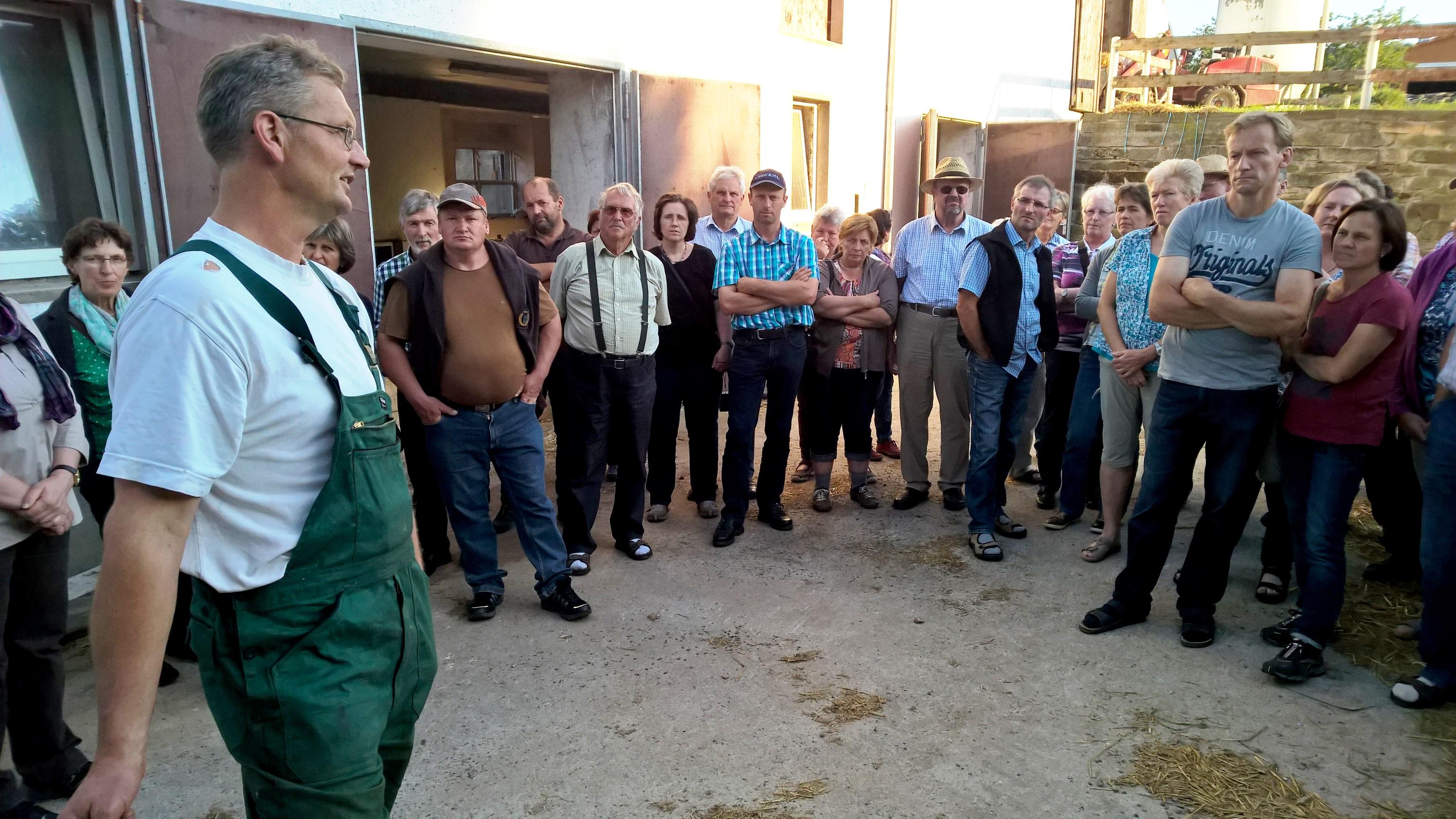 vlf Wasserburg: Lehrfahrt nach Sachsen
