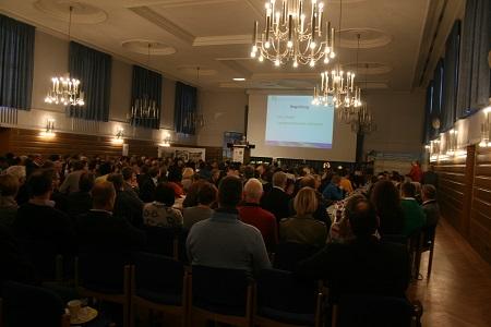 Gut besucht war die Landesversammlung des vlf Bayern in der historischen Alten Reithalle in Triesdorf (Foto: Dr. Isabell Schneweis-Fleischmann)
