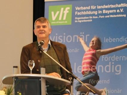Michael Horsch bei der Landesversammlung des vlf Bayern in Roding
