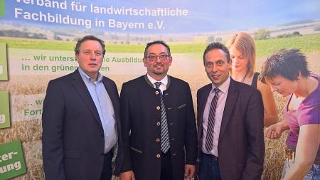 Klaus Schimpfhauser vom vlf Niederbayern wurde im Rahmen der Landesversammlung zum neuen Kassier des vlf und VLM Bayern gewählt.  Foto: Peter Schwappach