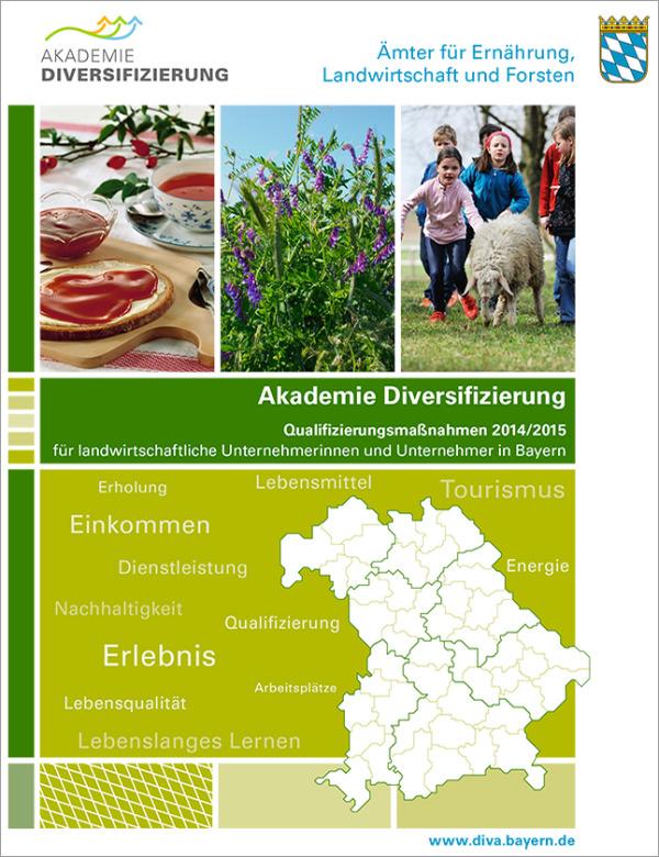 "Broschüre ""Qualifizierungsmaßnahmen 2014/15"""